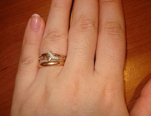 Снится два кольца на пальце